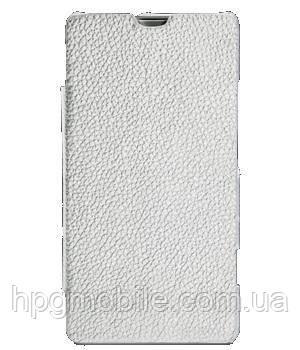 Чехол для Sony Xperia Miro ST23i - Melkco Book leather case (SEXPMOLCFB2WELC)