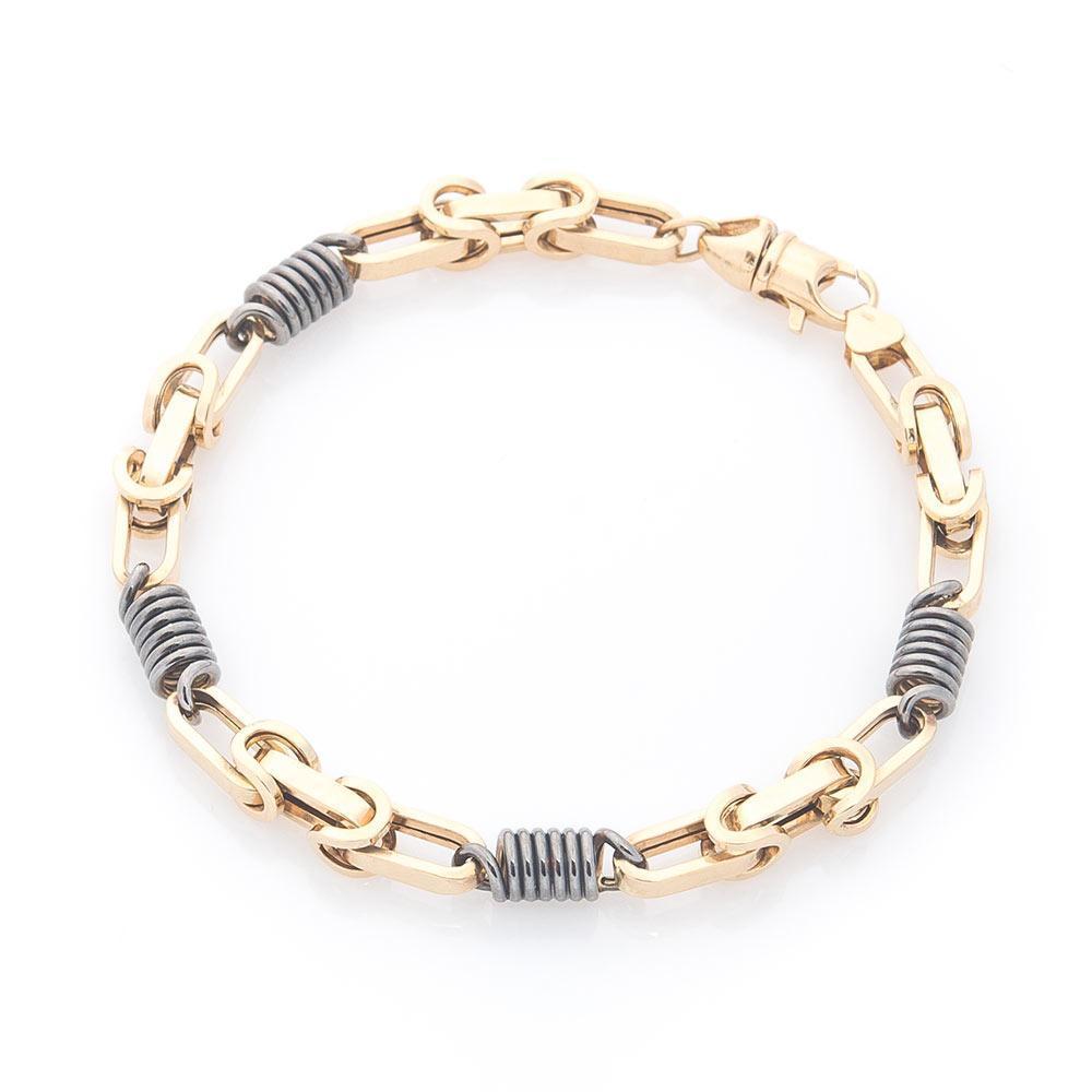 Мужской браслет из золота гб02141