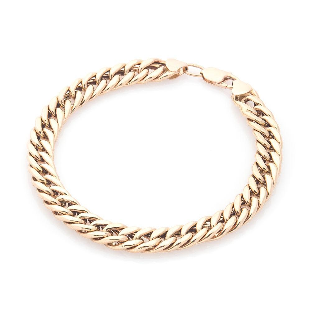 Золотой браслет плетение Кобра гб00286