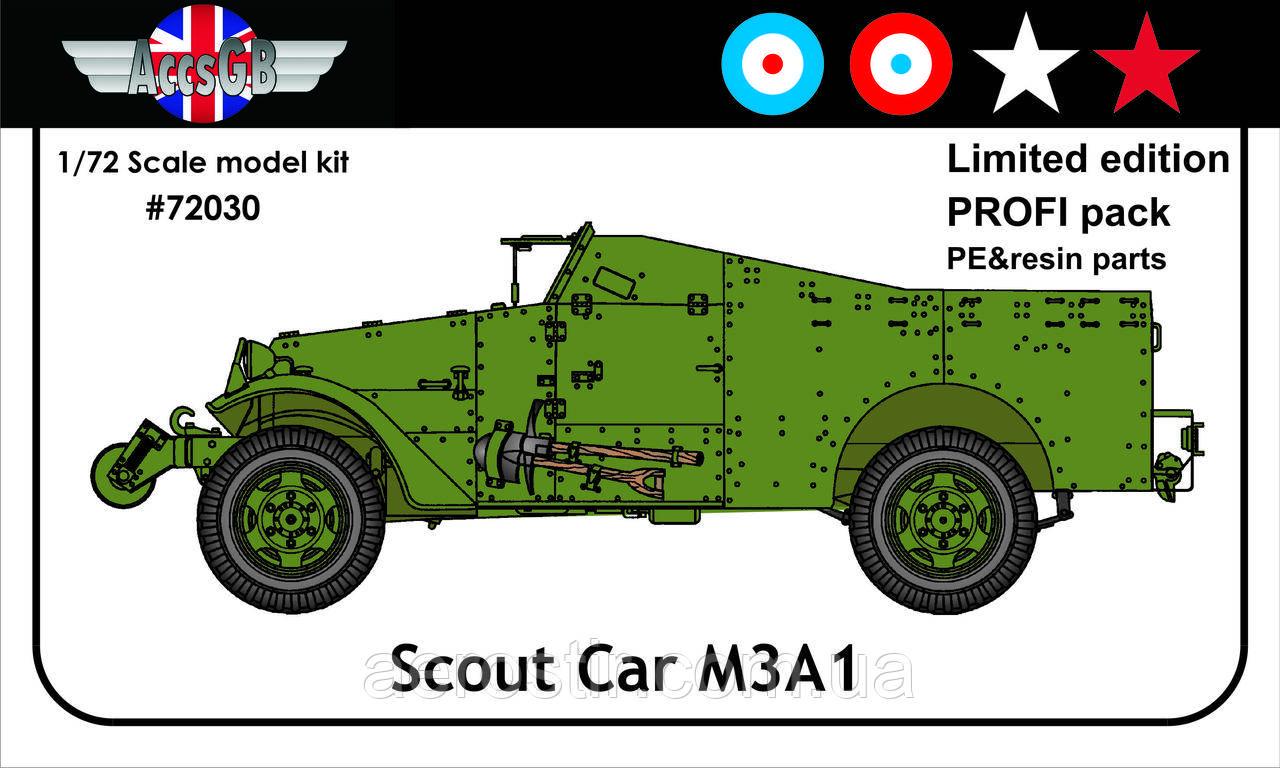 M3A1 Scout Car 1/72 AccsGB 72030