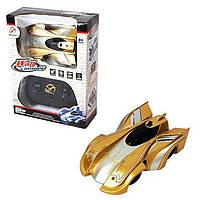 Радиоуправляемая игрушка CLIMBER WALL RACER Антигравитационная машинка Золото р/у Машинка, фото 1