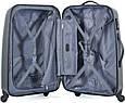 Пластиковый четырехколесный чемодан 94 л. Puccini PС-005, 6834/5 антрацит, фото 4