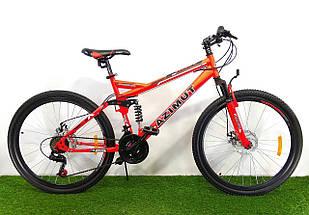 Двухподвесный велосипед Azimut Race 26 D+, фото 2