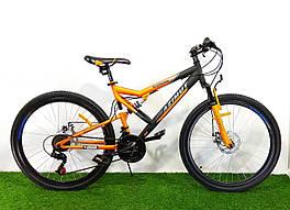 """Горный двухподвесный велосипед Azimut Scorpion 26"""" GD"""