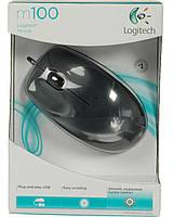 Мышка Logitech M100, USB
