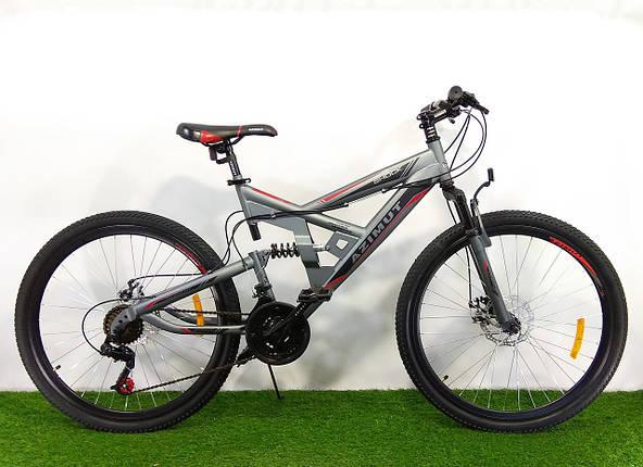 Горный подростковый велосипед Azimut Shock 24 GD, фото 2