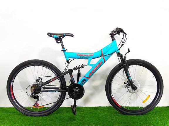 Горный велосипед Azimut Tornado 26 D+, фото 2