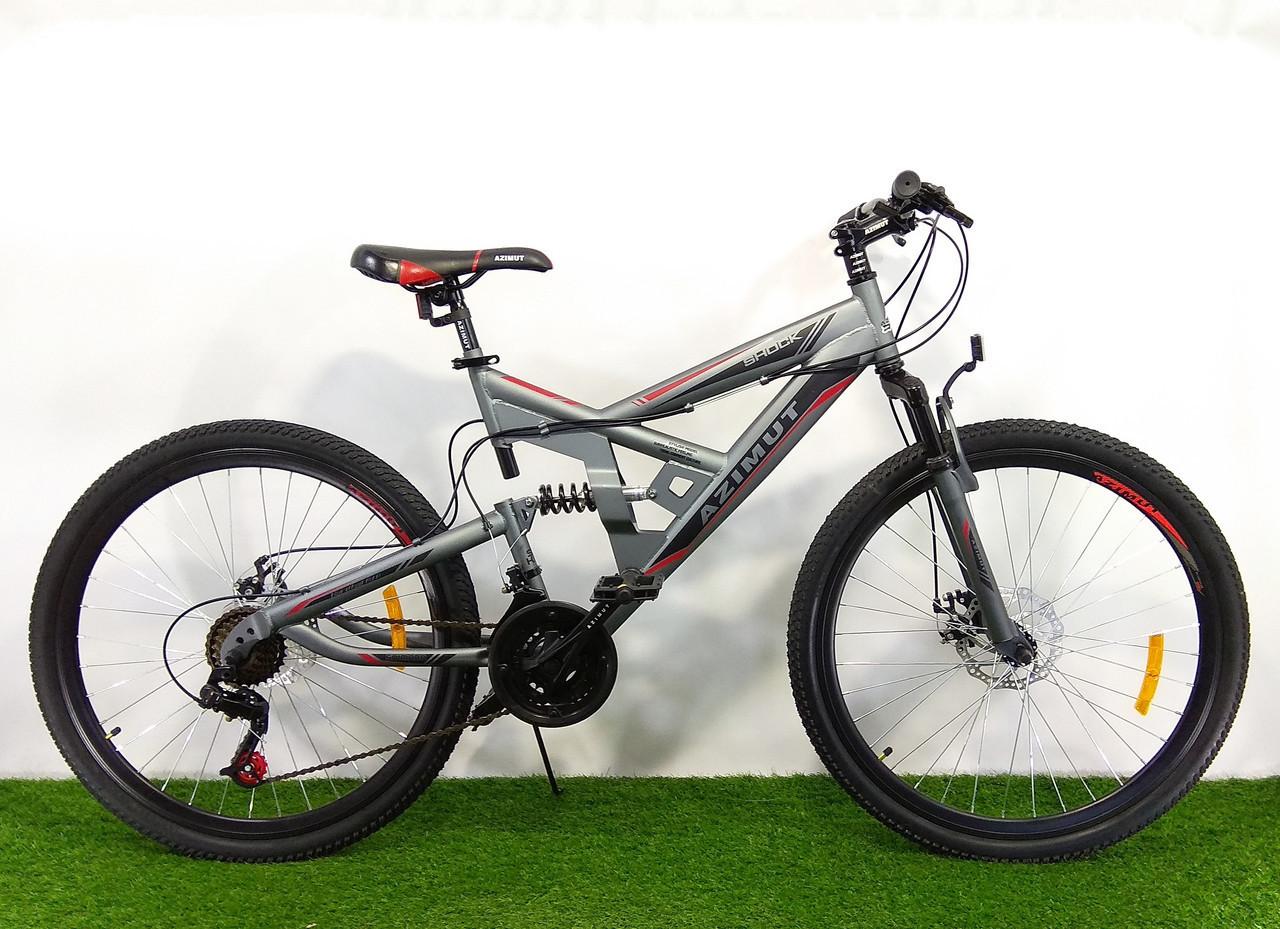 Горный велосипед Azimut Shock 24 D+