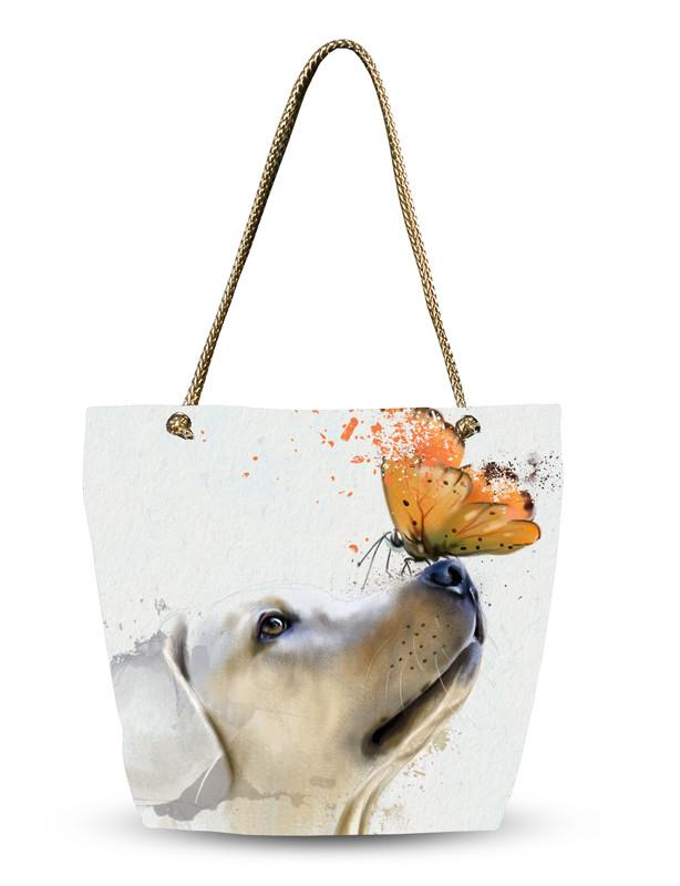 Сумка летняя с Собакой!