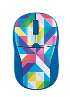 Мышка Trust Primo Wireless Mouse blue geometry (21480)