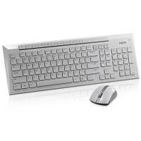 Клавиатура Rapoo 8200p Wireless White, Keyboard + Mouse