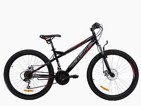 Горный подростковый велосипед Azimut Hiland 24 D+ New, фото 3