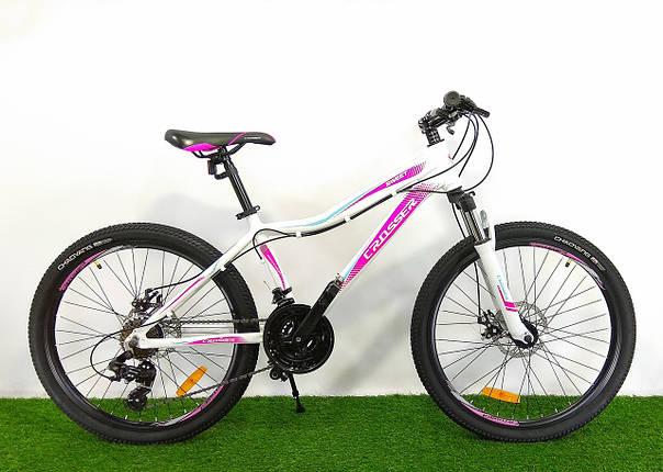 Подростковый велосипед для девочек Crosser Sweet 24, фото 2