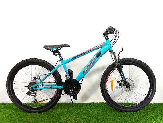 Горный велосипед Azimut Fox 24 D+, фото 2