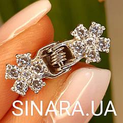 Серебряная заколочка для волос - Заколка для волос женская серебро 925