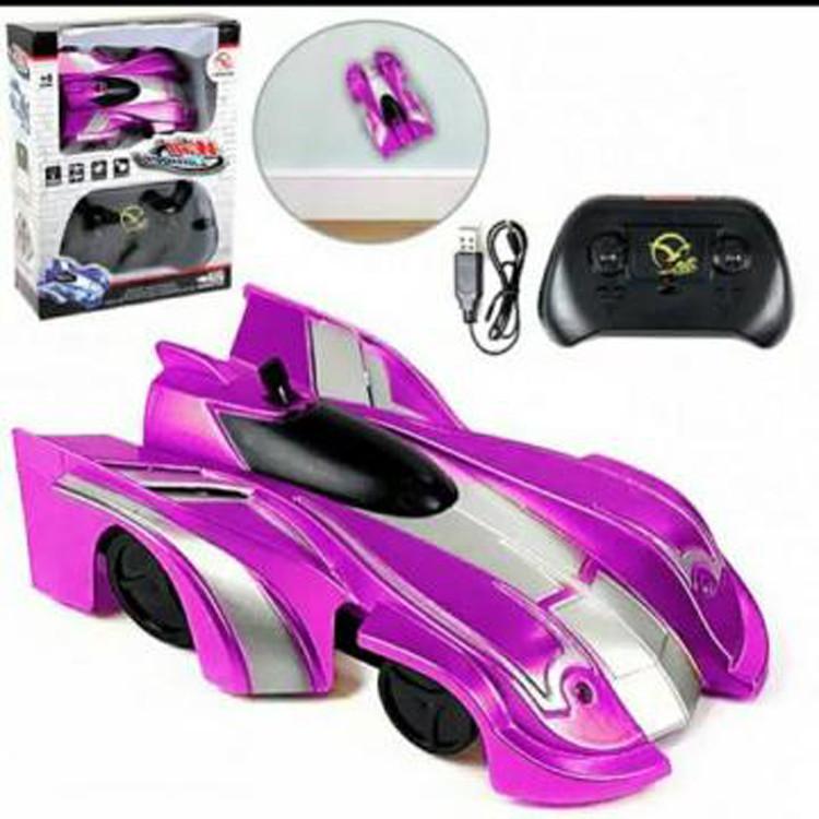 Радиоуправляемая игрушка CLIMBER WALL RACER Антигравитационная машинка Фиолетовый р/у Машинка
