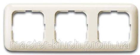Рамка 3-я ABB Busch-Duro