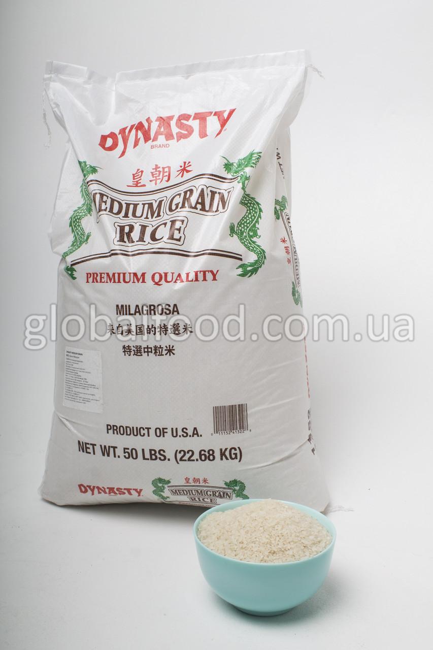 Рис для суши Калифорнийский Premium Dynasty USA  (10 кг./вес)