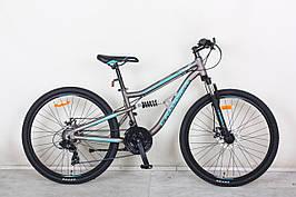 """Двухподвесный велосипед Crosser Legion 26"""""""