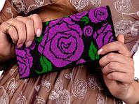 """Набор для вышивки клатчей """"Розовый сад"""" - С 212 клатч"""