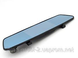 """Car DVR X10 Tachograph 1080p зеркало регистратор, сенсорный экран 5"""", две камеры, фото 2"""