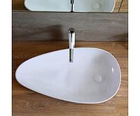 Умывальник (раковина) REA GRETA - керамический накладной