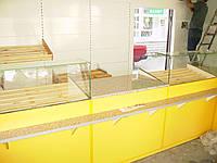 Стеллажи и витрины для хлебобулочных изделий