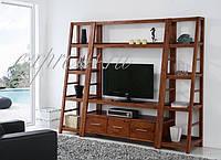 Мебельная стенка для гостинной из дерева 2003