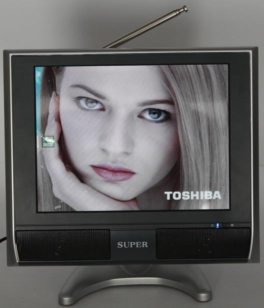 Портативный телевизор 10.4 дюйма DVD USB