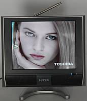 Портативный телевизор 10.4 дюйма DVD USB, фото 1