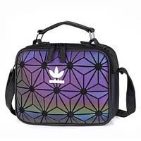 96bb1e619f54 Сумка клатч женская в стиле Adidas 3D Mini Airliner Bag Issey Miyaki  (флуоресцентная)