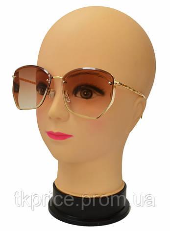 Модные женские солнцезащитные очки 2359,  жіночі сонцезахисні окуляри новинка, фото 2