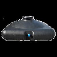 Бак для душа пластиковый 200 литров (емкость для душа) с насадкой лейкой