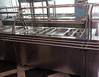 Прилавок холодильный для салатов в линию раздачи