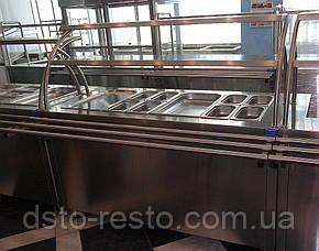 Прилавок холодильный для салатов в линию раздачи, фото 2