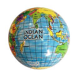 Мяч Карта мира, 23 см. (2400)