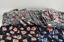 Бриджи женские с цветочным узором Капри женские , фото 3
