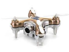 Квадрокоптер с камерой Wi-Fi Cheerson CX-10W нано (бежевый)