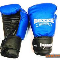 "Боксерские перчатки ""BOXER"" 10 унций, фото 1"