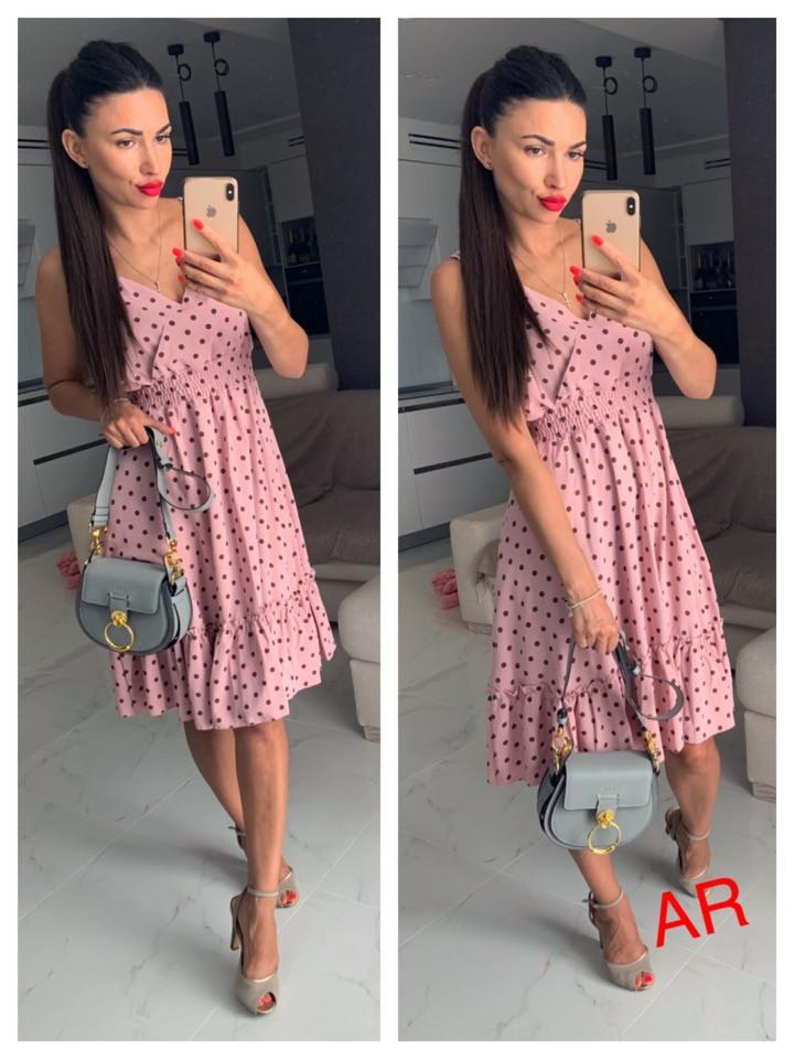 Платье миди, фабричний Китай.  Размер: 44,46. Разные цвета (6498)