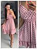 Платье миди, фабричний Китай.  Размер: 44,46. Разные цвета (6498), фото 2