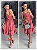 Платье миди, фабричний Китай.  Размер: 44,46. Разные цвета (6498), фото 3