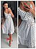 Платье миди, фабричний Китай.  Размер: 44,46. Разные цвета (6498), фото 6