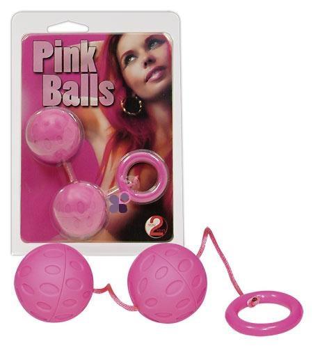Вагінальні кульки (рожеві)
