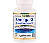 California Gold Nutrition Omega 3 Premium Fish Oil 1000 mg 100 softgels