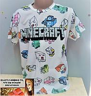 Детская футболка Маинкрафт Турция  на 10-11, 12-13  лет