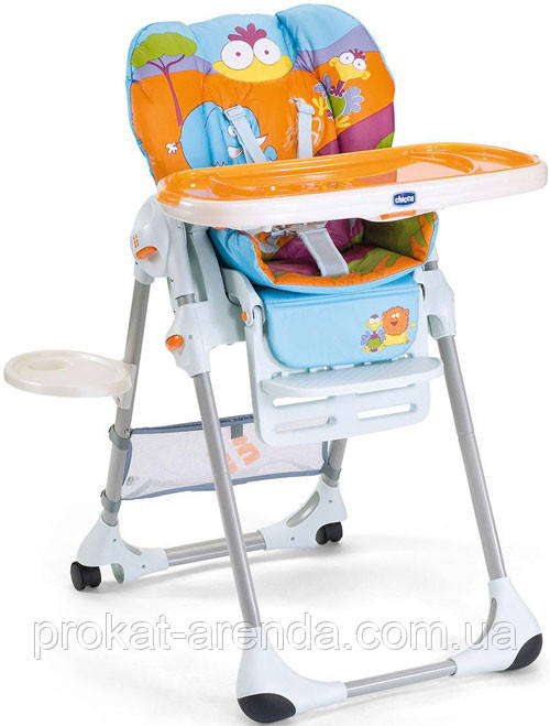 Стульчик Chicco Polly 2 in 1
