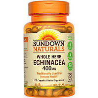 Sundown Naturals Whole Herb Echinacea 400 mg 100 caps