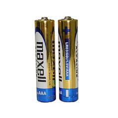 Батарейка AAA Maxell Alkaline LR03 в пленке 1шт (2шт в уп.)