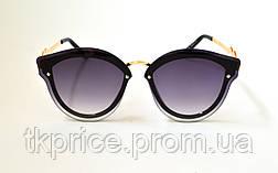Модные женские солнцезащитные очки 2774,  жіночі сонцезахисні окуляри новинка, фото 3